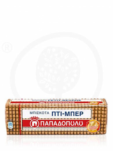"«Petit Beurre» biscuits from Attica ""Papadopoulos"" 7.9oz"
