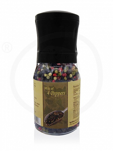 "4 peppers mix grinder from Attica ""Kollectiva"" 3.9oz"