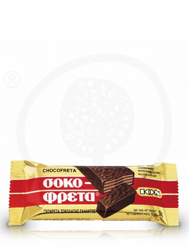 "«Chocofreta» chocolate wafer from Attica ""ION"" 1.3oz"