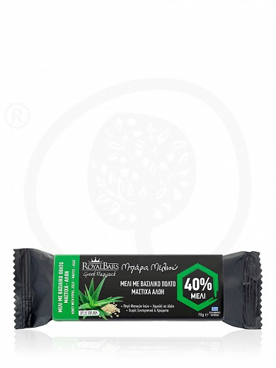 "Royal Jelly, mastic & aloe oat bar, from Attica ""Royal Bars"" 2.5oz"