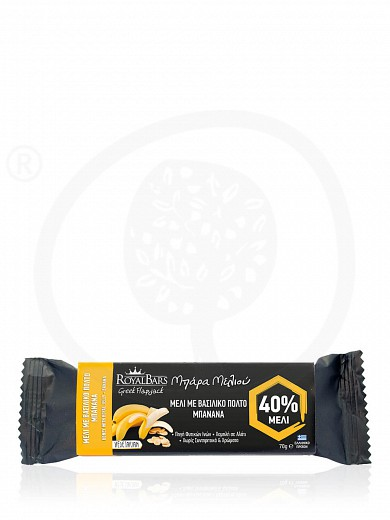 "Royal Jelly & banana oat bar, from Attica ""Royal Bars"" 2.5oz"