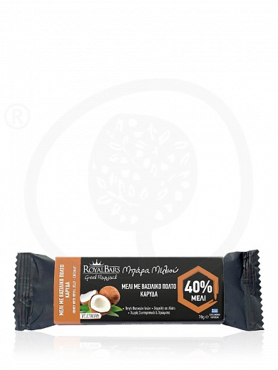 "Royal Jelly & coconut oat bar, from Attica ""Royal Bars"" 2.5oz"
