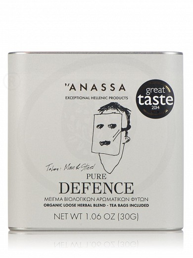 "«Pure Defence» organic herbal blend from Attica ""Anassa"" 1.4oz"