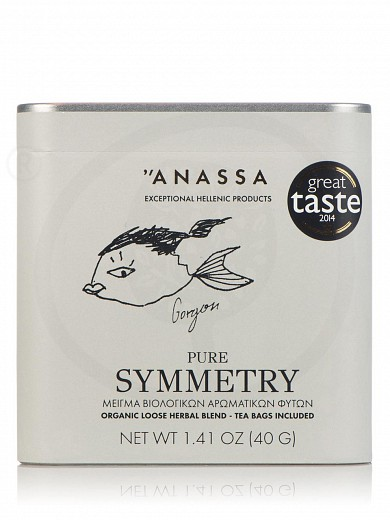 "«Pure Symmetry» organic herbal blend from Attica ""Anassa"" 1.4oz"