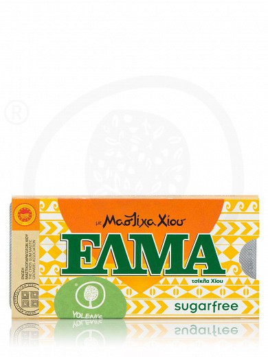 "Sugar-free mastic chewing gum «Elma Classic» ""Chios Gum Mastic Growers Association"" 0.5oz"