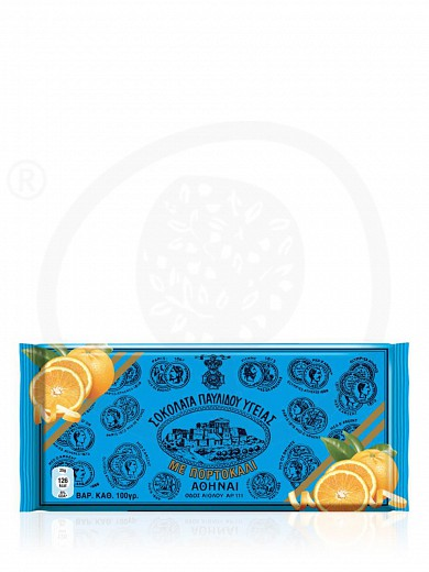 "Dark chocolate with orange, from Attica ""Pavlides"" 3.5oz"