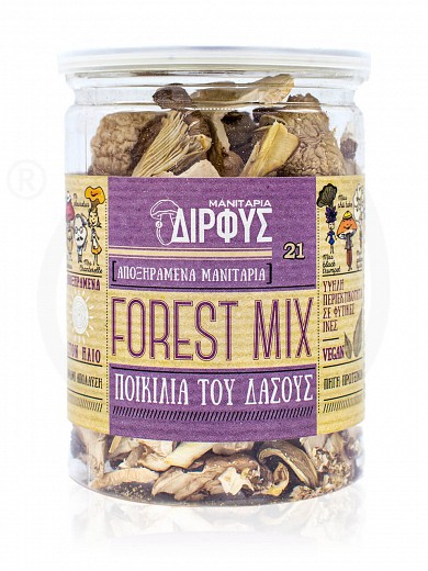 "Dried wild mushrooms from Evia ""Dirfis"" 1.1oz"