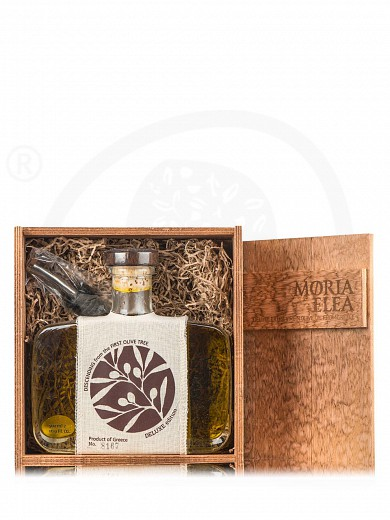 "Extra virgin olive oil gift box ""Moria Elea Deluxe"" 16.9fl.oz"