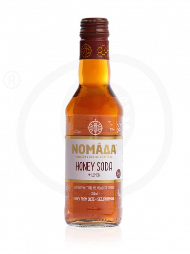 "Honey Soda with lemon, from Crete ""Nomada"" 8.8oz"
