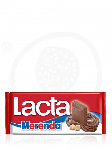 "Milk chocolate with «Merenda» filling, from Attica ""Lacta"" 3.2oz"