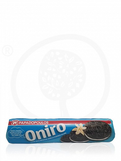"«Oniro» chocolate cookies filled with vanilla, from Attica ""Papadopoulos"" 7.1oz"
