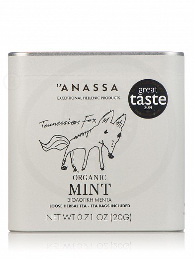 "Organic mint from Attica ""Anassa"" 0.7oz"