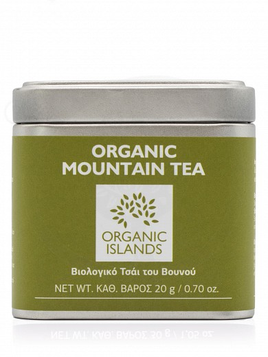 "Organic mountain tea from Naxos ""Organic Islands"" 0.70oz"