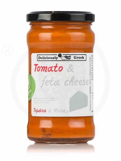 "Tomato & feta cheese sauce, from Attica ""Simply Greek"" 9.9oz"