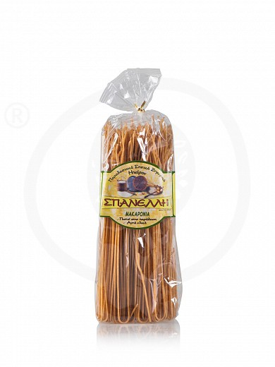 "Wholewheat spaghetti from Ioannina ""Spanelli"" 17.6oz"