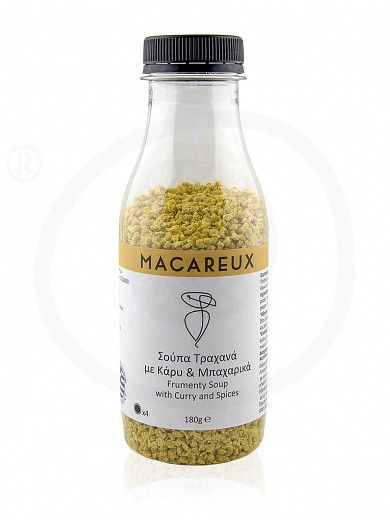 """«Trahanas» soup with curry & spices, from Evia """"Macareux"""" 6.3oz"""