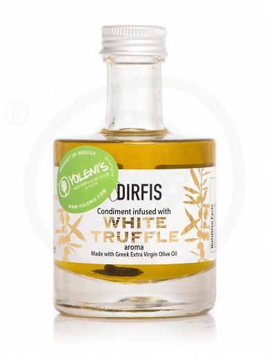 """Extra virgin olive oil with white truffle from Evia """"Dirfis"""" 3.4fl.oz"""