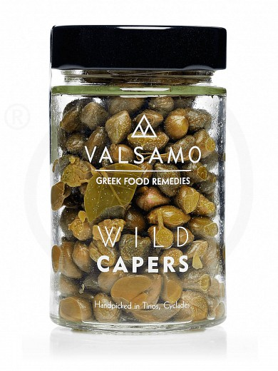 "Wild capers from Tinos ""Valsamo"" 3.9oz"