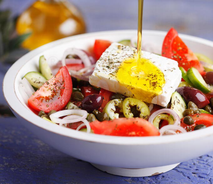 Horiatiki Salata Greek Salad