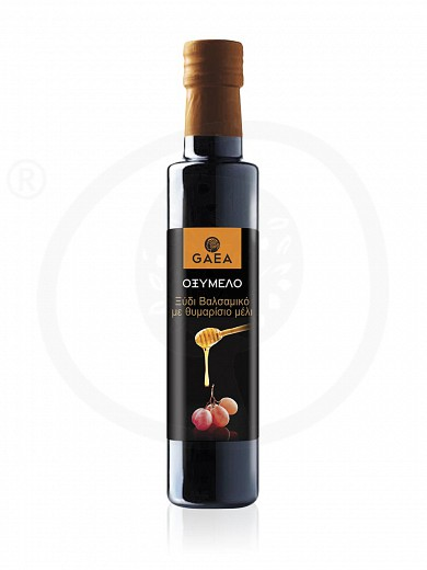 "Balsamic vinegar with thyme honey «Oxymelo» ""Gaea"" 250ml"