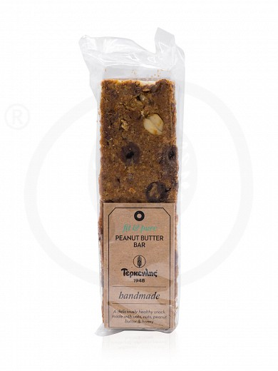 "Cereal bar with peanut butter «Pure & Fit» from Thessaloniki ""Terkenlis"" 80g"