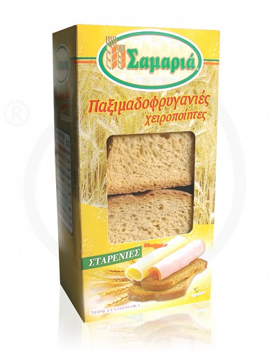 "Cretan handmade whole wheat toast ""Samaria"" 250g"