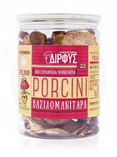 "Dried «Porcini» mushrooms from Evia ""Dirfis"" 30g"