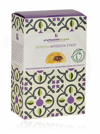 """Eclectic fig cookies from Attica """"Dear Greece"""" 200g"""