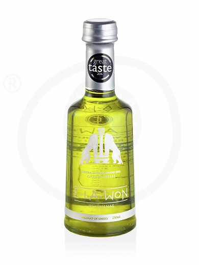 "Extra virgin olive oil «Green Fresh» from Attica ""Elawon"" 250ml"