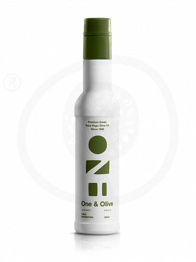 "Extra virgin olive oil «One & Olive» from Messinia ""Anagnostopoulos"" 250ml"