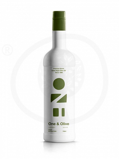 "Extra virgin olive oil «One & Olive» from Messinia ""Anagnostopoulos"" 750ml"