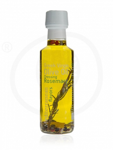 "Extra virgin olive oil with rosemary «Mediterranean Flavors» from Thessaloniki ""Nature Blessed"" 100ml"