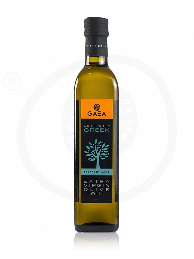 "Extra virgin olive oil «Authentic Greek» ""Gaea"" 500ml"