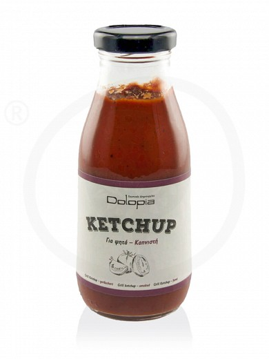 "Homemade smoked ketchup for meat, from Fthiotida ""Dolopia"" 280g"