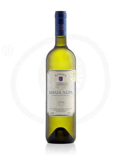 """Ktima Biblia Chora"" Regional white wine of Pangeon 750ml"