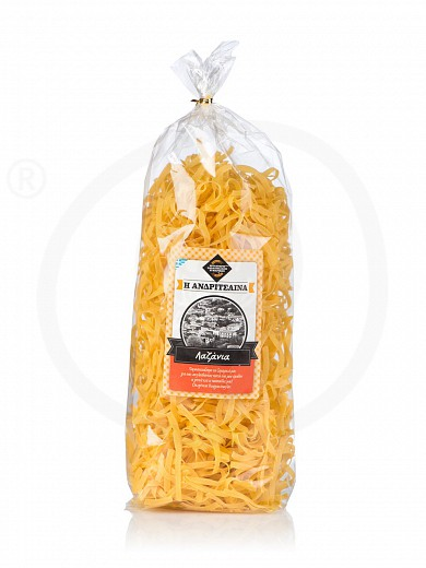 "«Lasagne» traditional pasta from Ilia ""Andritsena"" 500g"