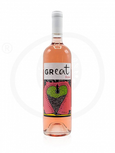 Limited edition «GReat» by Yoleni's Rose Wine 750ml