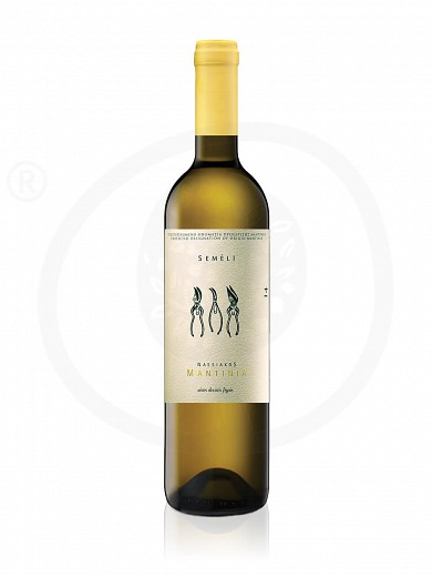 "Mantinia P.D.O. «Nassiakos» ""Semeli Winery"" white wine 750ml"