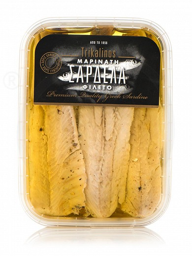 "Μarinated sardine fillets ""Trikalinos"" 195g"