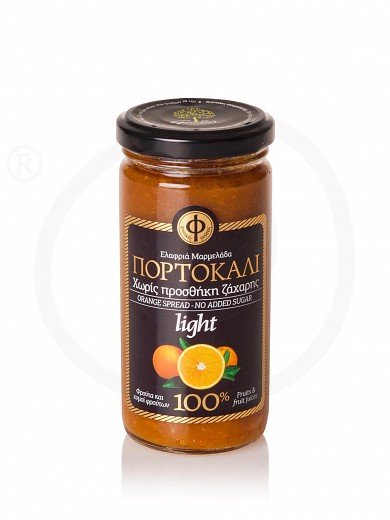 "No added sugar pure orange jam from Attica ""Geodi"" 270g"