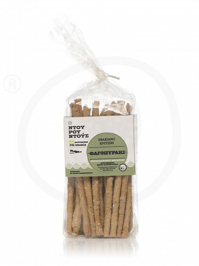 "Organic buckwheat breadsticks from Sfakia ""Douroudous Bakery"" 150g"