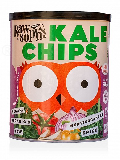 "Organic kale chips «Mediterranean Mix» from Attica ""Rawsophy"" 30g"