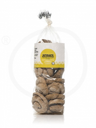 "Organic round barley rusks from Crete ""Douroudous Bakery"" 280g"