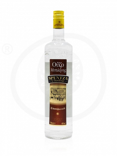 "Ouzo (greek distillate) from Mytilini ""Spentza"" 700ml"