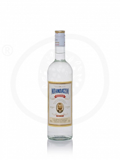 "Ouzo (greek distillate) from Thessaloniki ""Babatzim"" 700ml"