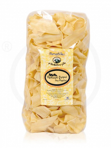 "«Papardelle» traditional pasta with buffalo milk from Serres ""Andreadou Georgia"" 400g"