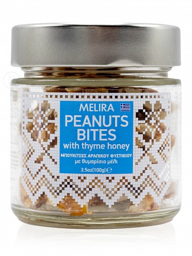 "Peanut bites with thyme honey, from Evia ""Melira"" 100g"