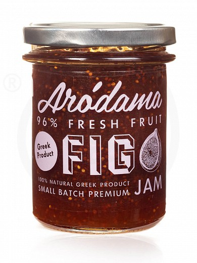 "Premium fig jam from Crete ""Arodama"" 220g"