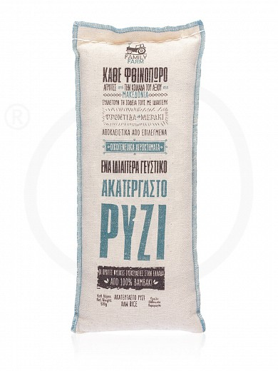 "Raw rice from Macedonia ""Agrifarm Premium Products"" 500g"
