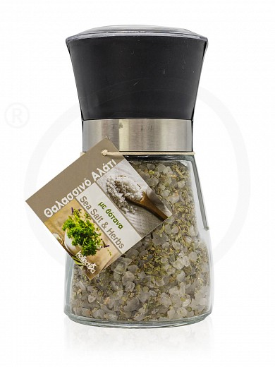 "Sea salt & herbs grinder from Attica ""Kollectiva"" 180g"